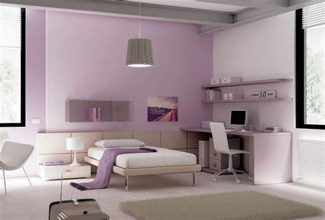 Chambre ado épurée avec lit 1 personne MORETTI COMPACT