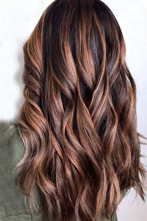 hair color   highlights  dark brown hair