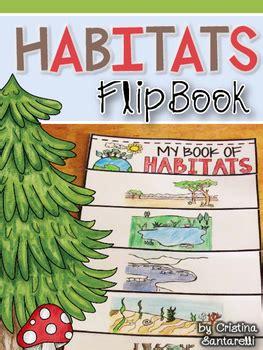 habitats flip book  aisforadventuresofhomeschool tpt
