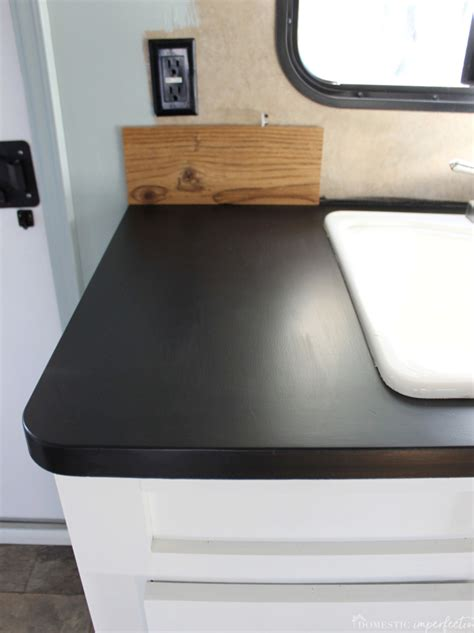 Paint Countertops Black by Painting Laminate Countertops With Chalkboard Paint