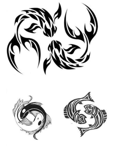 Pisces Tattoos Designs, Ideas and Meaning | Tattoos For You