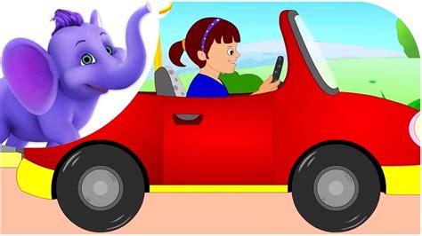 driving   car road version nursery rhyme youtube
