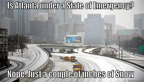 Atlanta Snow Meme - good lord atlanta quickmeme