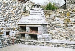 Construction En Pierre : construction d 39 un barbecue ~ Premium-room.com Idées de Décoration