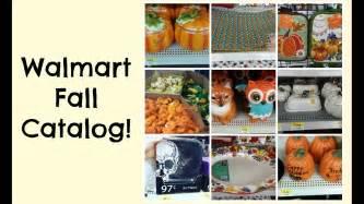 walmart fall decor catalog shop   youtube