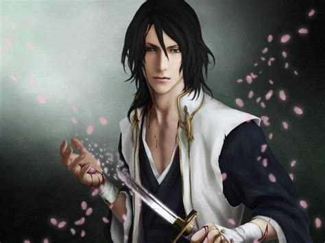 3d Anime Boy Wallpaper - kuchiki byakuya 3d anime boys wallpapers hd