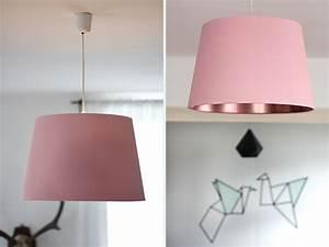 DIY Lampenschirm In Pastellrosa Und Kupfer Craftifair