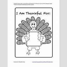 Free Thanksgiving Printables Sequencing, Drawing, Numbers Order