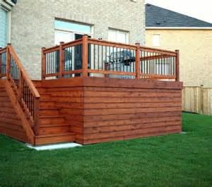 deck ideas house ideas horizontal deck skirting deck