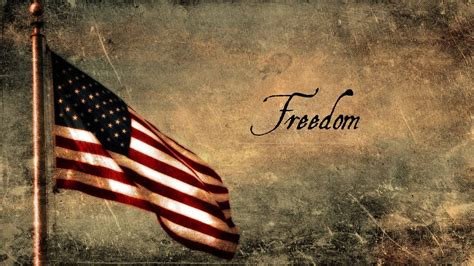 Freedom and USA flag - wonderful HD wallpaper
