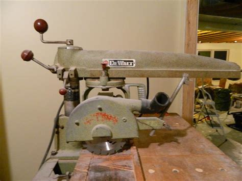 Wanting To Sell A Dewalt Mbf 225 Radial Arm Saw