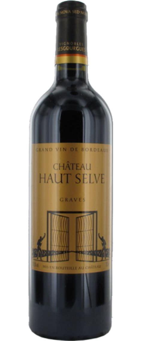 Château Haut Selve Rouge  Graves  Le Figaro Vin