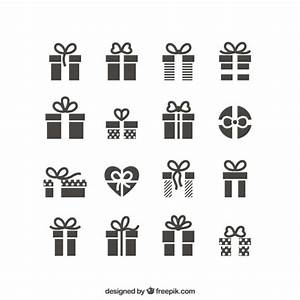 Gift icons Vector | Free Download