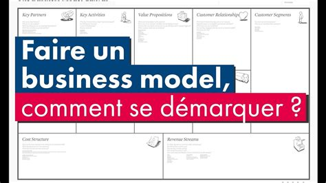 faire un business model comment se d 233 marquer