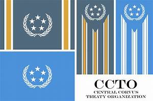 Flag of The Central Corvus Treaty Organization by TheoComm ...