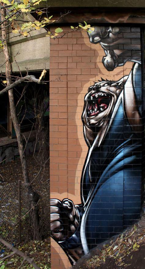 spectacular realistic street art  pics izismilecom