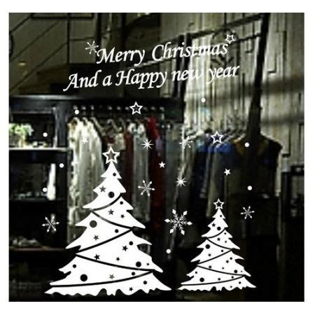 christmas tree merry xmas stickers wall decal removable