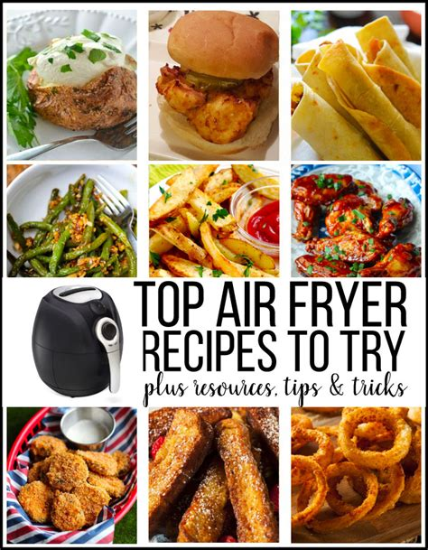 fryer air recipes resources try thirtyhandmadedays food meals cooking frier healthy easy vegetables dinner tips using indian snacks most