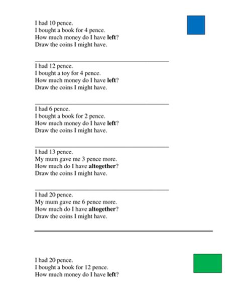 year 2 3 money word problems by joelroutledge teaching resources tes