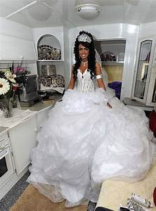 66 best images about terrible horrible gypsy wedding With gipsy wedding dress