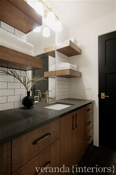 chocolate brown bathroom cabinets contemporary