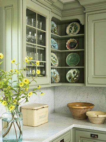 country corner kitchen best 25 green country kitchen ideas on 2697