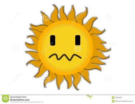 sun l for sad sad sun characte stock vector image of shiny
