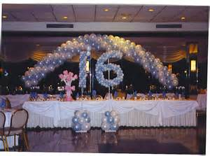 Decorations for Sweet Sixteen Party Ideas