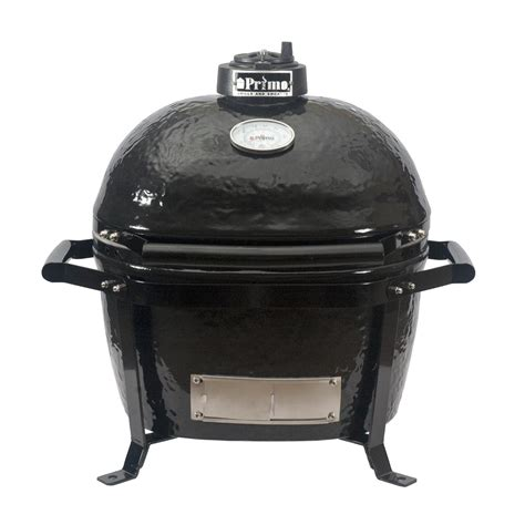 ceramic grill primo oval junior ceramic charcoal smoker grill on go portable carrier bbq guys