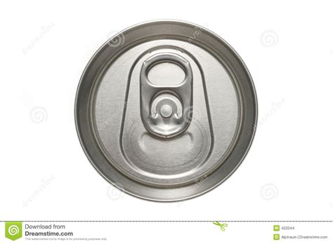 Aluminum Can Top Macro Stock Images