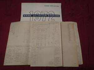 1972 Ford F100 F250 F350 Wiring Diagrams Scheatics Manual