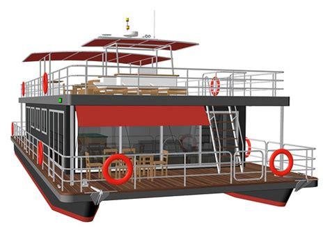 Best Pontoon Boat Design by Houseboat Pontoon Design Page 2 Boat Design Net