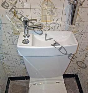 Reservoir Wc Lave Main : cuvette wc avec lave main ~ Melissatoandfro.com Idées de Décoration