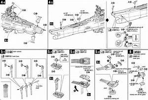 1  500 Space Battleship Yamato English Manual  U0026 Color Guide