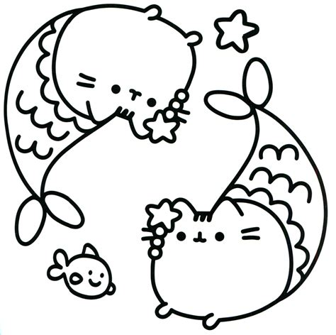 pusheen coloring pages coloring pages  lineart