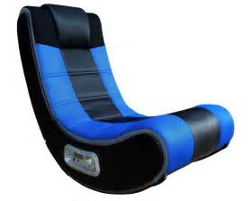 blue v rocker se wireless gaming chair