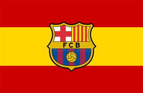 FC Barcelona logo editorial photography. Illustration of ...