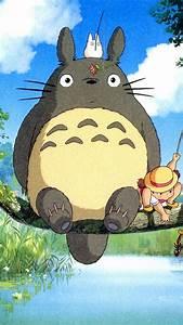 iPhone BGs » Ghibli My Neighbor Totoro Anime IPhone 6 ...