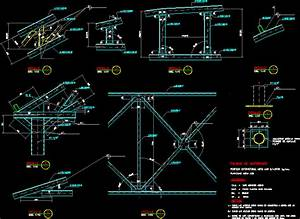 Roof Truss Deck Solution DWG Detail for AutoCAD • Designs CAD