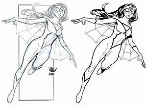 Image Gallery spider woman sketches