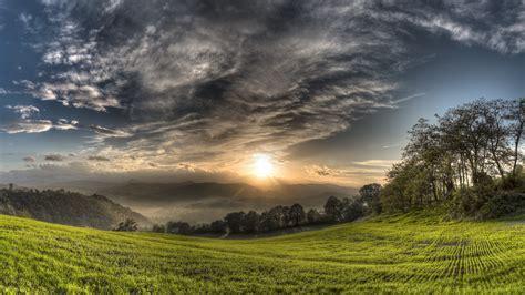 Landscape From Montebabbio Italy Hd Widescreen Swedish