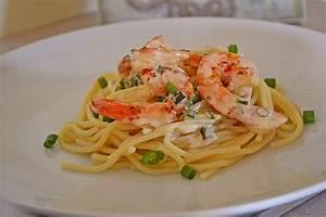 Pasta Mit Garnelen : spaghetti in garnelen zitronensauce rezept mit bild ~ Orissabook.com Haus und Dekorationen