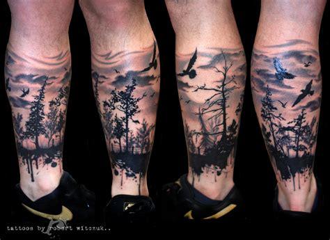 Forest Shadow Tattoo Robert Witczuk