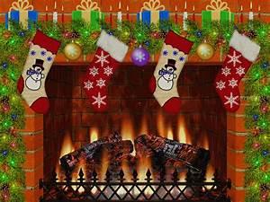 Christmas Fireplace Screensaver Download