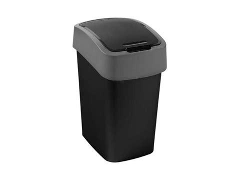 conforama poubelle cuisine poubelle cuisine 25 l flip bin coloris noir chez conforama