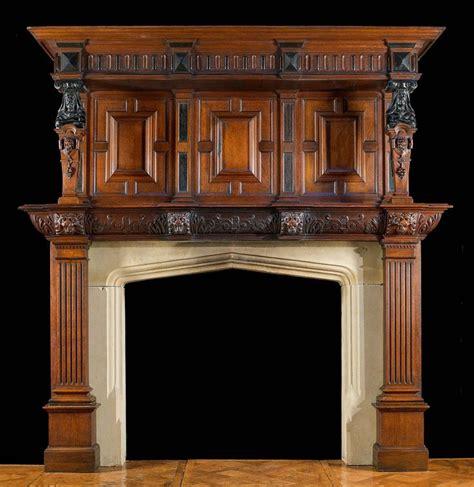 jacobean style carved oak antique fireplace and best 25 antique renaissance chimneypieces images on