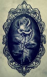 rose in a frame by karlinoboy on DeviantArt