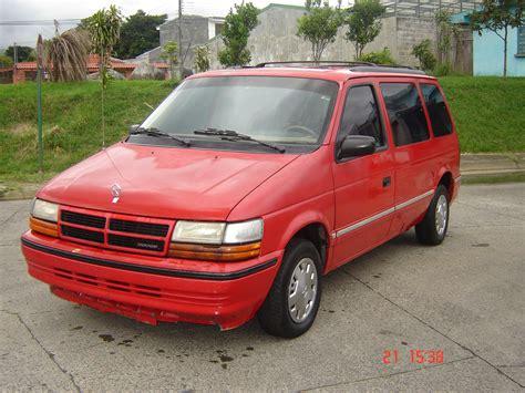 1992 Dodge Caravan Red  200+ Interior And Exterior Images