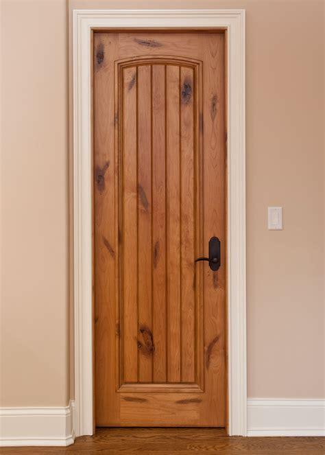 interior door custom single solid wood  light