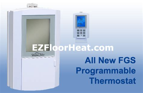 Warm Tiles Thermostat Not Working by Fgs Dual Voltage 120 240 Vac Programmable Thermostat
